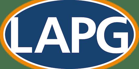 LAPG CPM - Financial & Resource Management - 13 Sep 2019 tickets