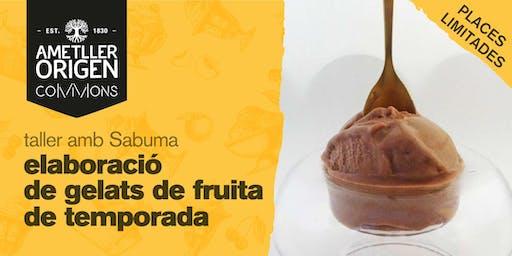 TALLER SABUMA - Elaboració de gelats de fruites de temporada