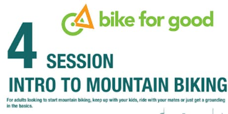 Bike For Good - Introduction to Mountain Biking tickets