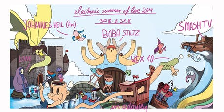 Electronic Summer of Love IX * The Odonien Festival * Tickets