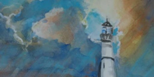 2 Full Days: Lighthouses in Watercolor w/ Jan Ross