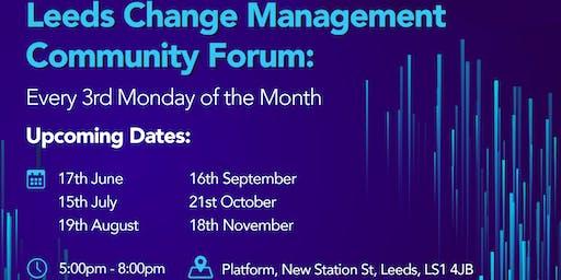 Leeds Change Management Community - June Forum
