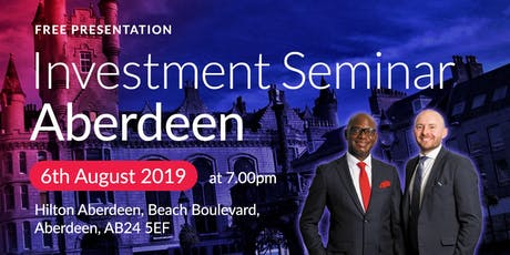Aberdeen Investment Seminar on Buy2LetCars tickets