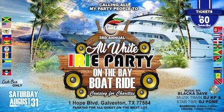 Irie Party Boat Ride Boatride tickets