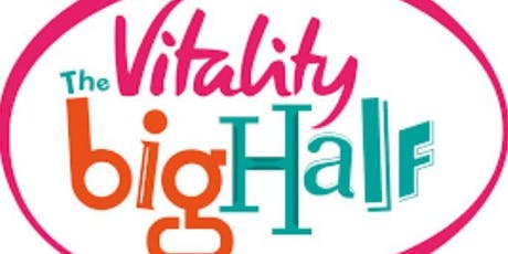 The Vitality Big Half 2020 - Secure a place with RMA - The Royal Marines Charity tickets