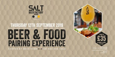 Beer and Food Pairing Experience