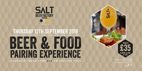 Beer and Food Pairing Experience tickets