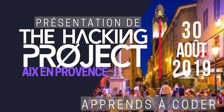 The Hacking Project Aix-en-Provence automne 2019 (présentation gratuite) billets