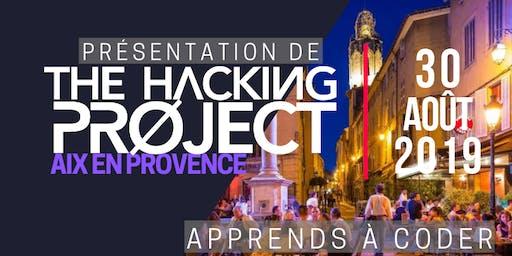 The Hacking Project Aix-en-Provence automne 2019 (présentation gratuite)