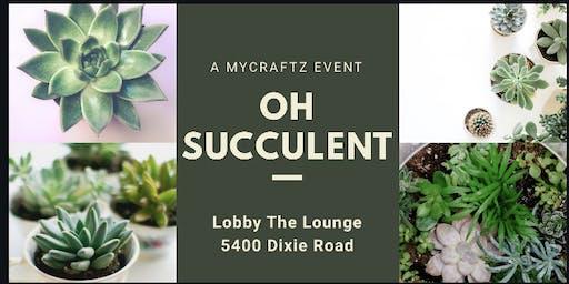 Oh Succulent - Terrarium