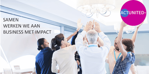 ACTUNITED ConnectionLab Boom | Samen realizeren we business met impact!