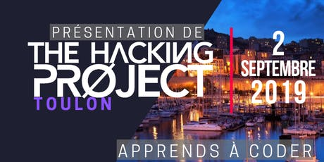 The Hacking Project Toulon automne 2019 (Gratuit) billets