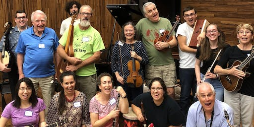 Music Improvisation and Facilitation with Mary Knysh