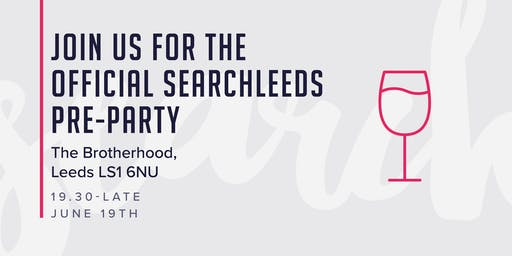 SearchLeeds 2019 pre-party