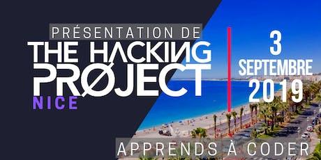 The Hacking Project Nice automne 2019 (présentation gratuite) billets