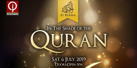 In The Shade Of The Quran tickets