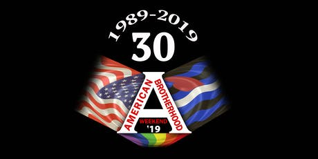 30th Annual  American Brotherhood Weekend 2019 tickets