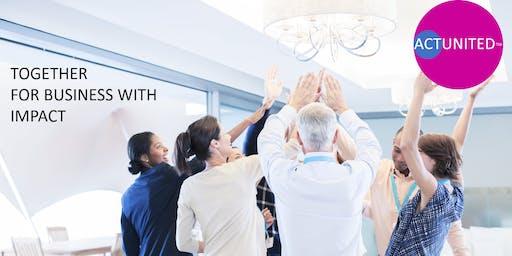 ACTUNITED ConnectionLab BXL | Ensemble pour du business avec impact!