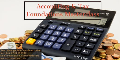Accounting & Tax Foundations Masterclass