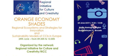 ORANGE ECONOMY SHADES: Regional Ecosystems, Innovation and CCIs tickets
