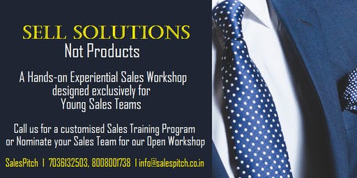 Sell Solutions, Not Products: Sales Training Program
