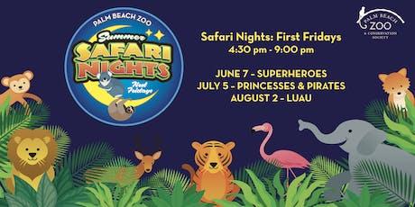 Palm Beach Zoo - Safari Nights tickets