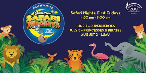 Palm Beach Zoo - Safari Nights