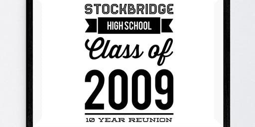 Stockbridge High School Class of 2009 - 10 year reunion