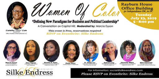 """Women of Color: """"Defining New Paradigms for Business and Political Leadership"""""""
