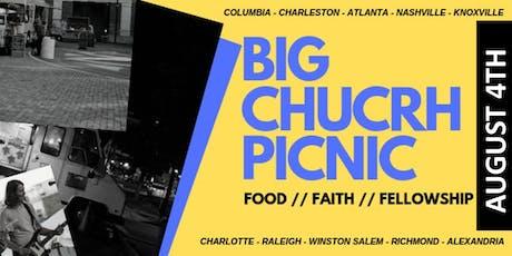 BIG CHURCH PICNIC: Vendor Registration tickets