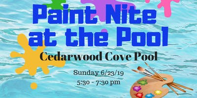 Paint Night at Cedarwood Cove