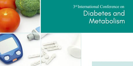 3rd International Conference on Diabetes and Metabolism (PGR) tickets
