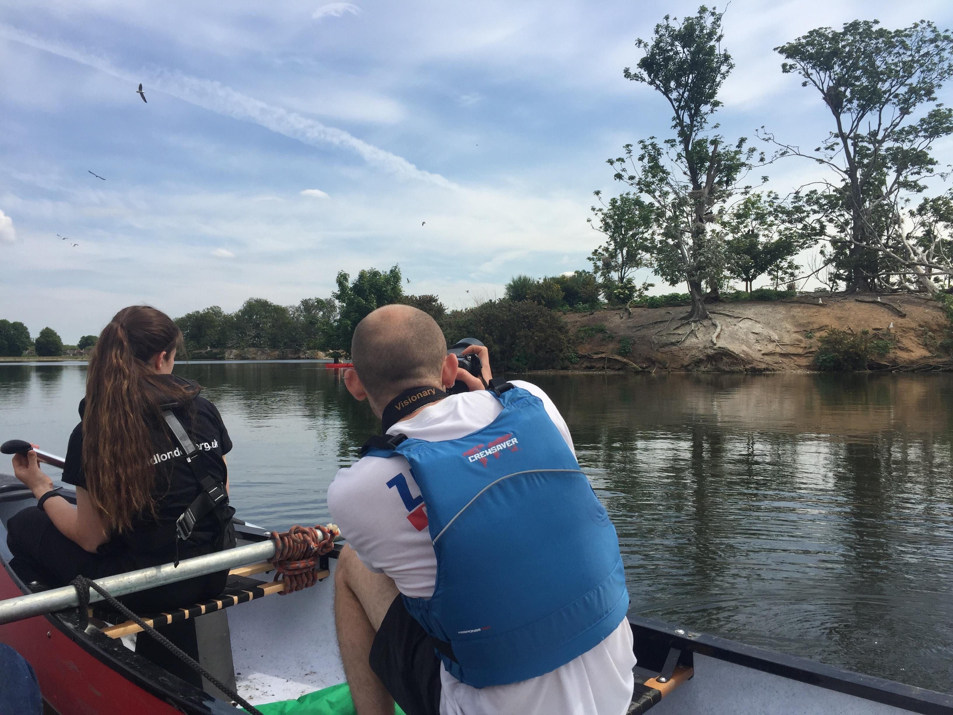 Practical workday, Walthamstow Wetlands, Weds 19th June 2019 with London Wildlife Trust