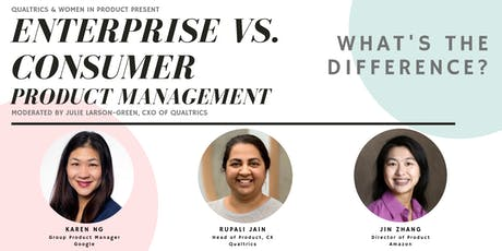 WIP Seattle - Enterprise vs. Consumer Product Management - What's the Difference?  tickets