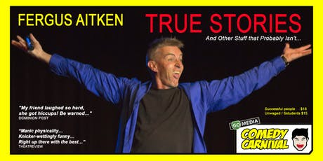 TRUE STORIES and Other Stuff That Probably Isn't.. tickets