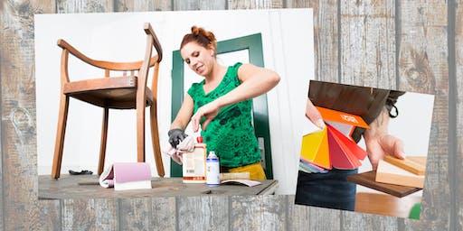 Workshop Vintage-Möbel aufarbeiten: Grundlagen