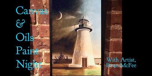 Canvas & Oils Paint Night with Ryan McFee