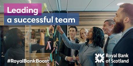 Wellbeing & Leadership - Grow Your Team's Performance #HR #Leadership #Wellbeing #RoyalBankBoost tickets