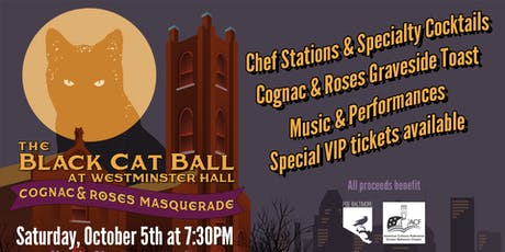 The Black Cat Ball at Westminster Hall, Cognac & Roses Masquerade tickets