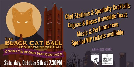 The Black Cat Ball at Westminster Hall, Cognac & Roses Masquerade