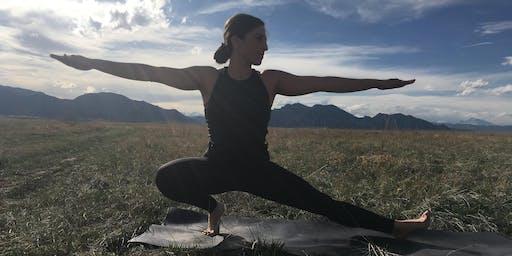 Evening Yoga Summer Series @ Louisville Arboretum  (July Class)