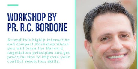 Workshop by Prof. R.C. Bordone tickets