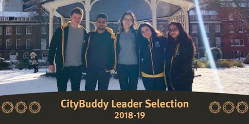 CityBuddy Leader 2019/20 Selection - Alternative Day