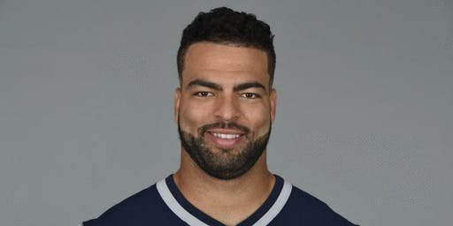 Pre-Season Huddle with Patriot's Linebacker Kyle Van Noy