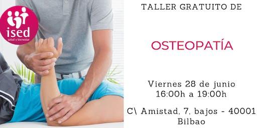 Taller de Osteopatía 28 de junio tarde