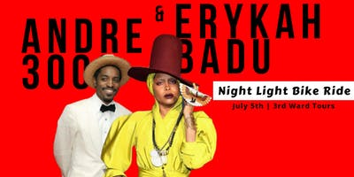 Andre 3000 & Erykah Badu  |  Night Light Bike Ride