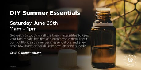 DIY Summer Essentials tickets