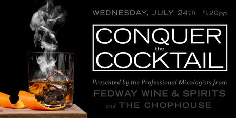 Conquer the Cocktail tickets