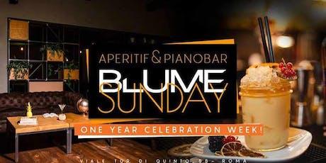 Domenica 24 Novembre 2019 Blume - Aperitif&Music biglietti