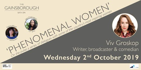 'Phenomenal Women' 2019: Viv Groskop tickets